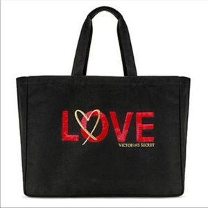 Victoria's Secret Love Tote Large Weekend Bag NWT